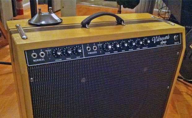 1964 fender vibroverb blackface amp pro audio diy guitar amps recording gear reviews. Black Bedroom Furniture Sets. Home Design Ideas