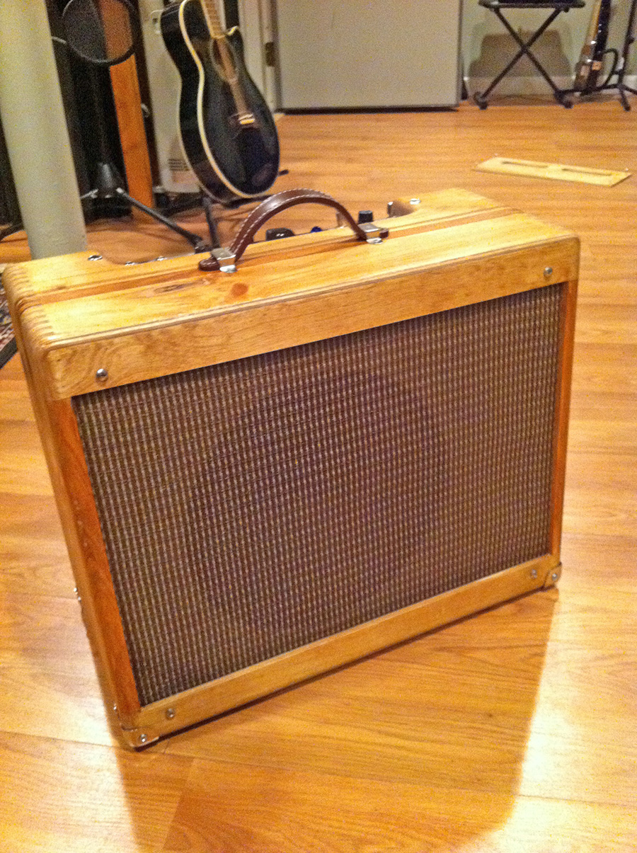 how to build a small guitar amp