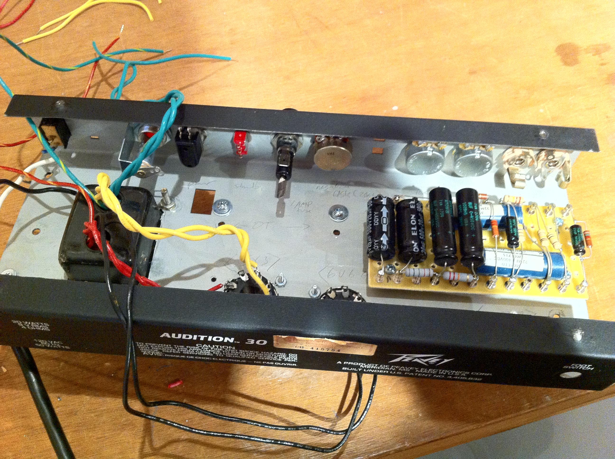 Fender Princeton 5f2 A Amp Diy