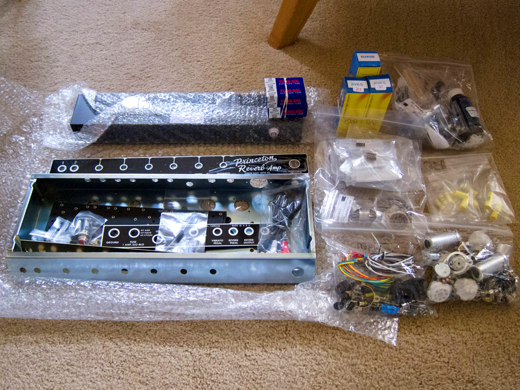Fender Princeton Reverb Diy Build From A New Reader  Part