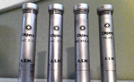 oktava mc-012 mics