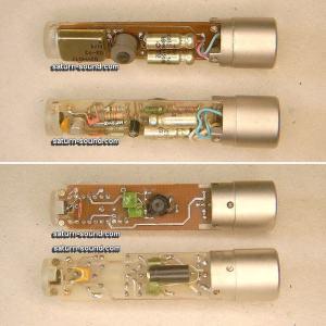 Two older model Okatav MC-012 Microphones